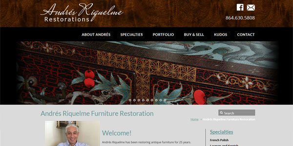 riquelmerestoration.com: Riquelme Antique Restoration